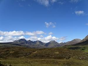 Black and red cuillin