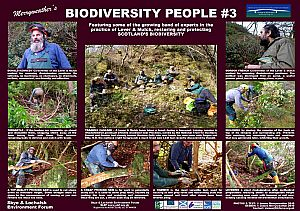 James Merryweather's Biodiversity People 3